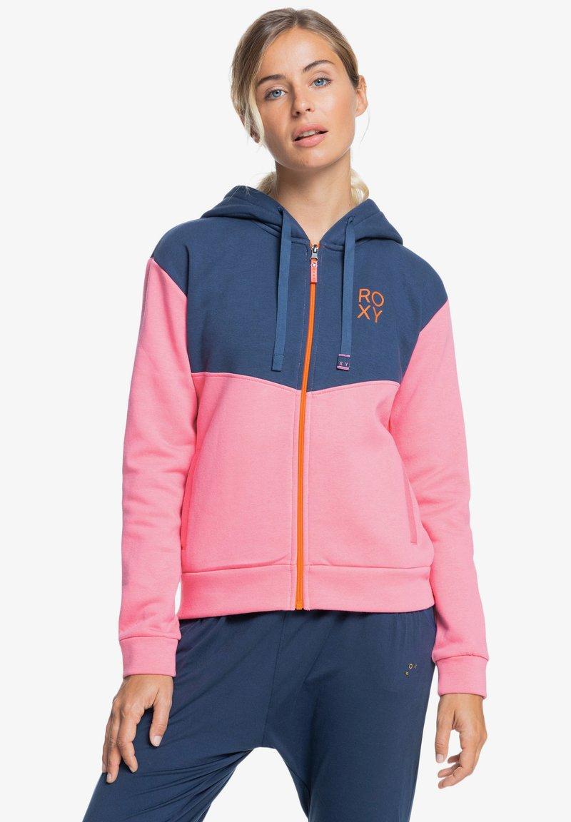 Roxy - Zip-up sweatshirt - pink lemonade