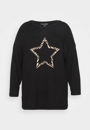 STAR JUMPER - Pullover - black