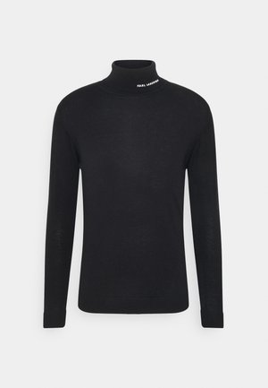 ROLLNECK - Jumper - black