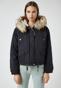 PULL&BEAR - Light jacket - black - 0