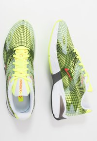 Nike Sportswear - GHOSWIFT - Zapatillas - volt/laser crimson/white/iron grey/black - 4