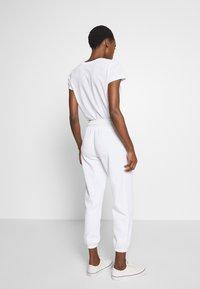 Polo Ralph Lauren - ANKLE PANT - Spodnie treningowe - white - 2