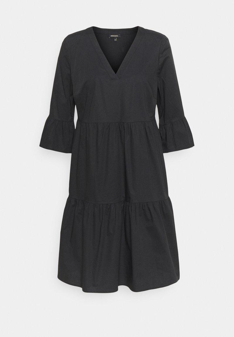 More & More - DRESS SHORT - Day dress - black