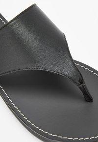Next - T-bar sandals - black - 7