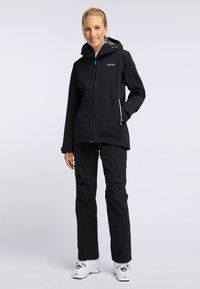 PYUA - RELEASE - Pantaloni da neve - black - 1