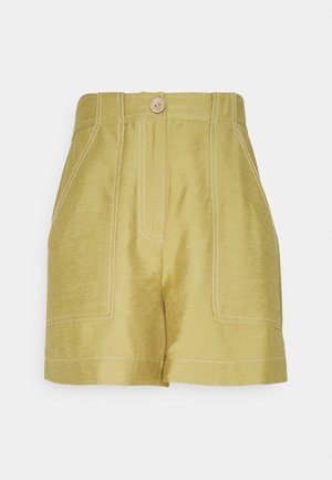 YASLENO - Shorts - khaki