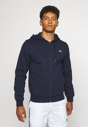 CLASSIC HOODIE JACKET - Sweat à capuche - navy blue