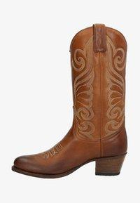 Sendra - Cowboy-/Bikerlaarzen - cognac - 0