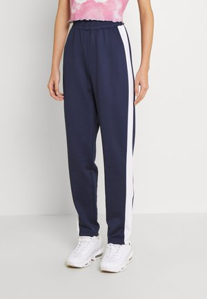 MONA TROUSERS - Tracksuit bottoms - peacoat