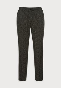 Opus - MELPIN MINIMAL - Trousers - black - 3