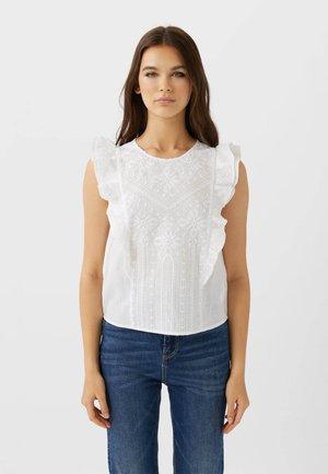 02232583 - Hemdbluse - white
