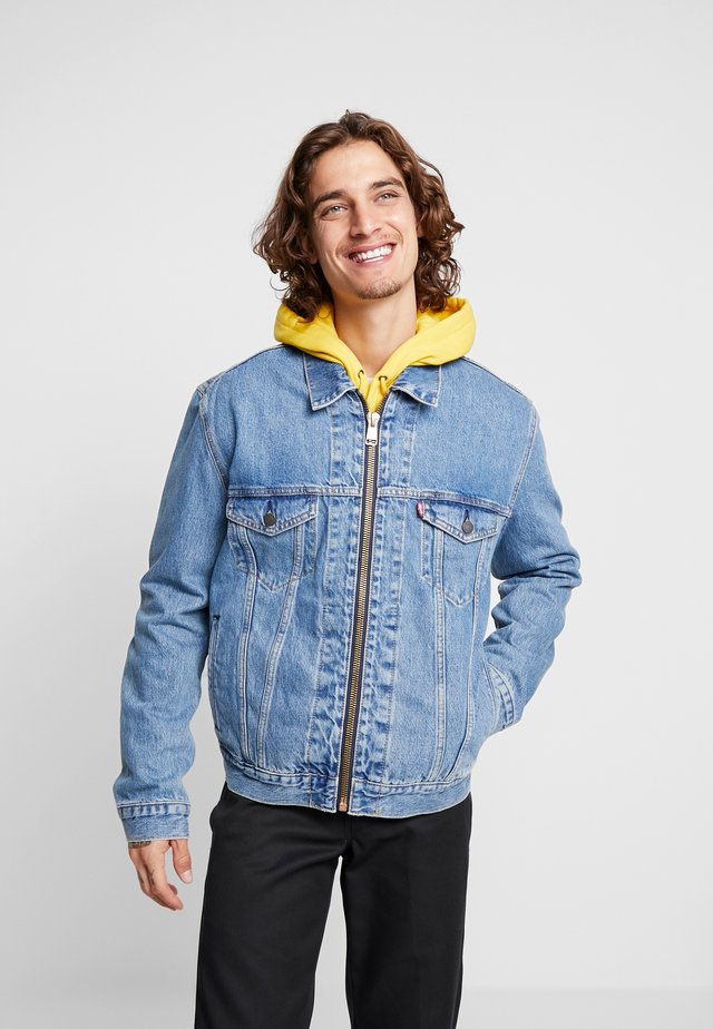 ZIP TYPE 3 TRUCKER - Denim jacket - zip davidson trucker