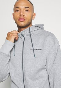 Under Armour - Zip-up hoodie - pitch gray light heather - 4