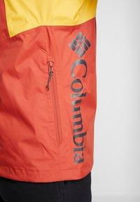 Columbia - INNER LIMITS™ JACKET - Hardshellová bunda - carnelian red/bright gold/shark - 3