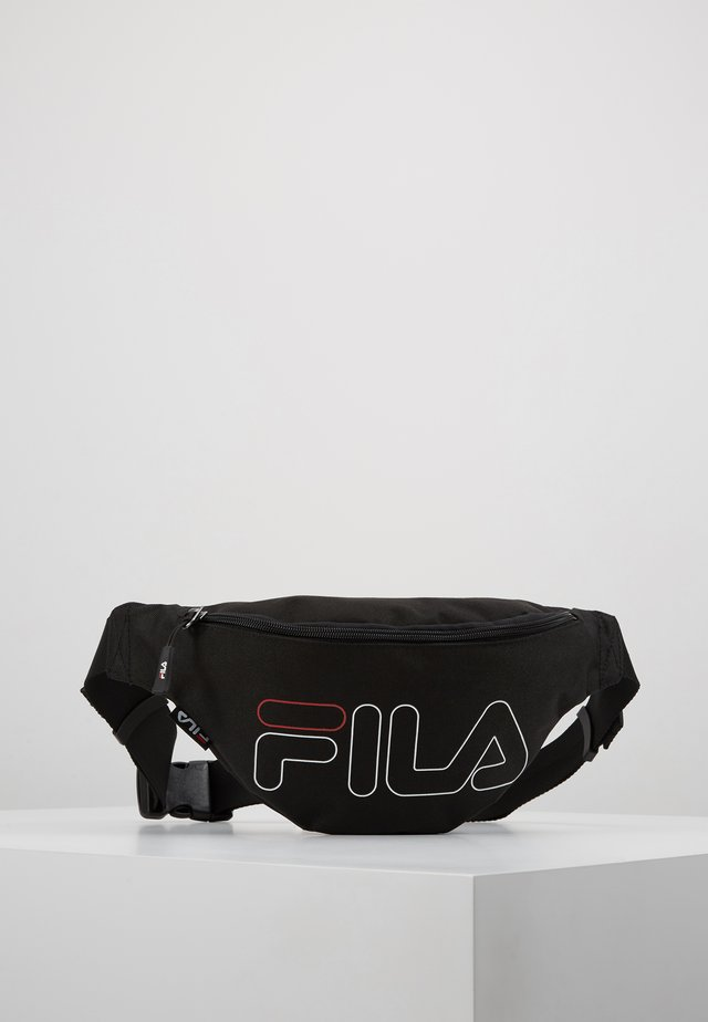 WAIST BAG SLIM - Bæltetasker - black