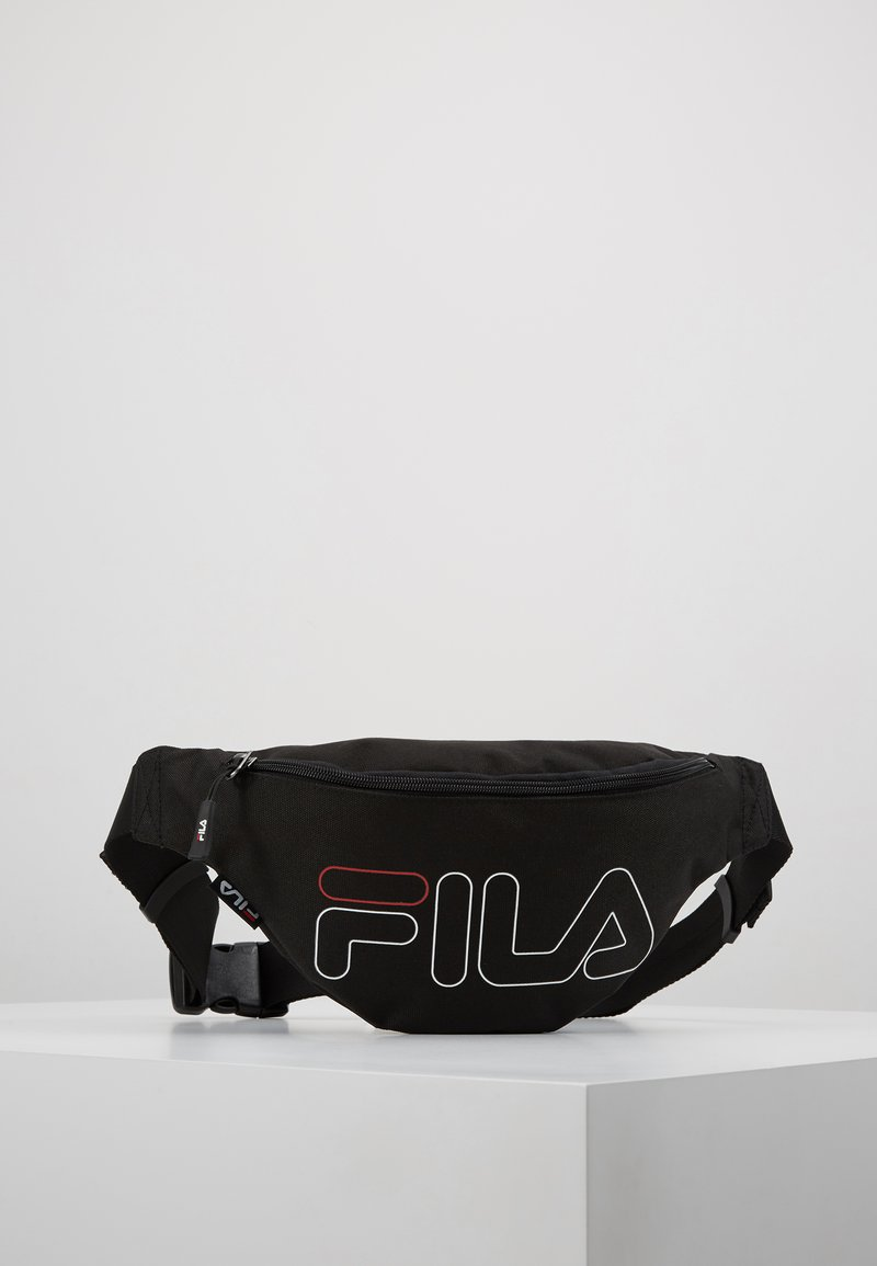 Fila - WAIST BAG SLIM - Bum bag - black