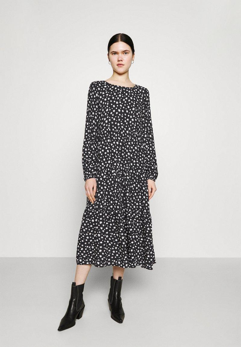 Even&Odd - Day dress - black/white