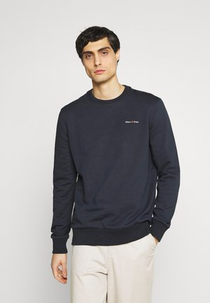 CREW NECK LONG SLEEVE - Sweatshirt - dark blue