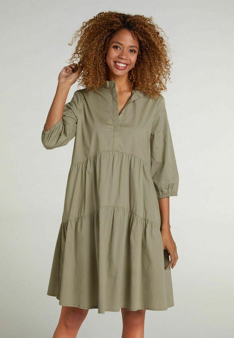 Oui - Shirt dress - khaki