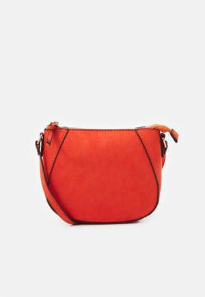 ZIP TOP CROSS BODY - Axelremsväska - orange
