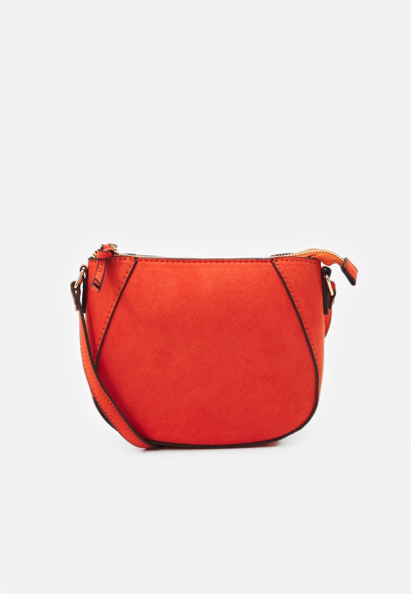 Dorothy Perkins - ZIP TOP CROSS BODY - Across body bag - orange