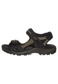 ECCO - OFFROAD - Walking sandals - black/mole/black oil - 4
