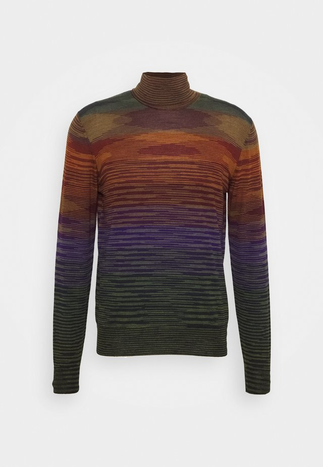 LONG SLEEVE CREW NECK - Stickad tröja - multi coloured