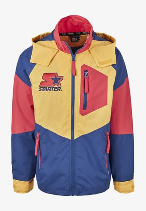 MULTICOLORED LOGO - Summer jacket - red/blue/yellow