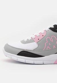 Kappa - HARLEM II - Sports shoes - white/flieder - 5