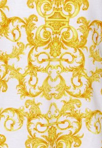 Versace Jeans Couture - PRINT LOGO BAROQUE  - Polo shirt - white - 6