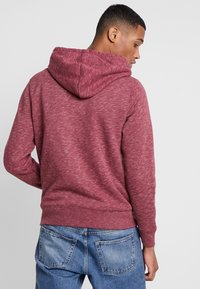 Hollister Co. - CORE ICON - Zip-up hoodie - burgundy - 2