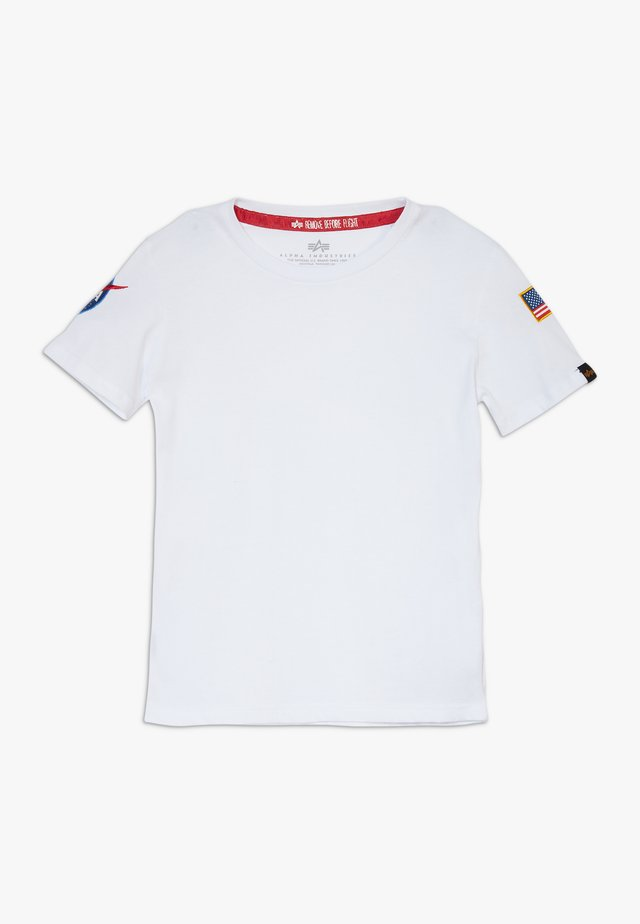 KIDS NASA  - Camiseta estampada - white