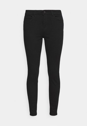 VMHONNISEVEN PUSH UP - Jeans Skinny Fit - black