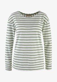 Smith&Soul - LANGARM GESTREIFT  - Long sleeved top - sage green - 0