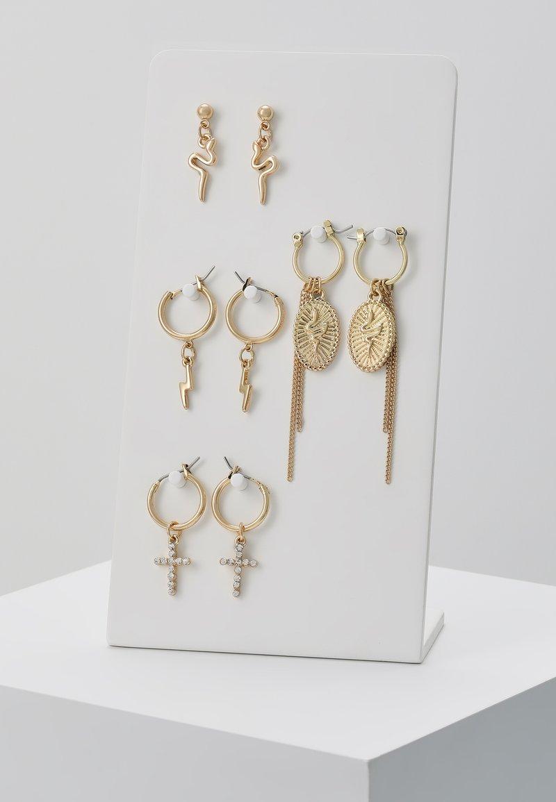 Pieces - Øreringe - gold-coloured