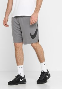 Nike Performance - DRY SHORT - Sports shorts - gunsmoke/black - 0