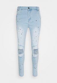 SIKSILK - RIOT BIKER - Jeans Skinny Fit - light wash - 2