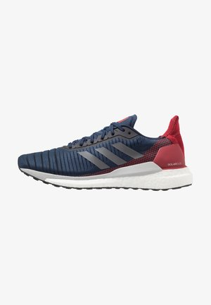 SOLAR GLIDE 19 - Neutral running shoes - collegiate navy/grey five/active maroon