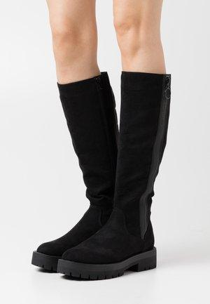 NAPOLI BOOT - Platform boots - black