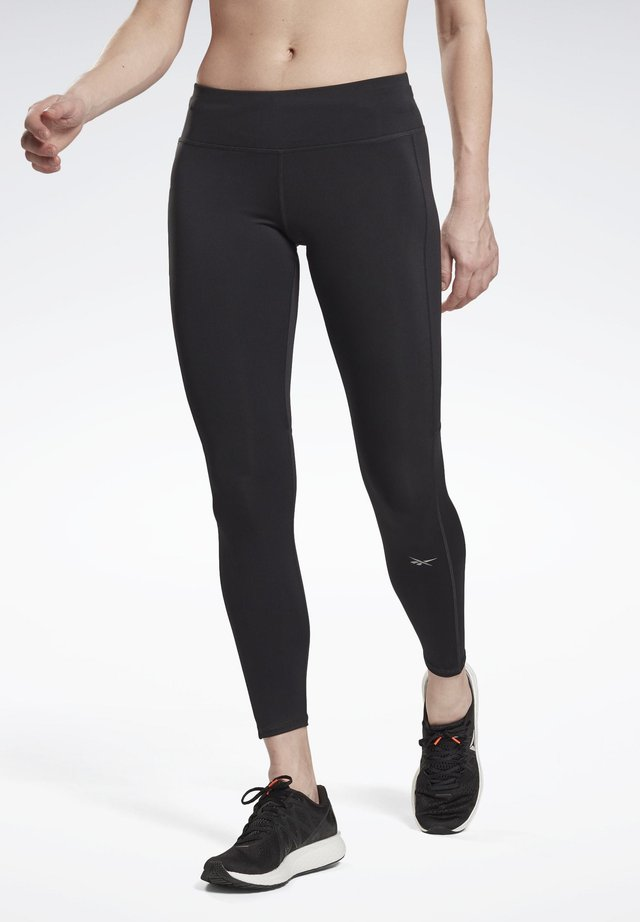RUNNING ESSENTIALS LEGGINGS - Leggings - black