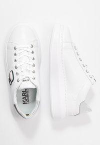 KARL LAGERFELD - KAPRI IKONIC LACE - Sneaker low - silver - 3