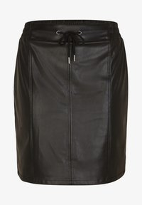comma casual identity - A-line skirt - black - 3