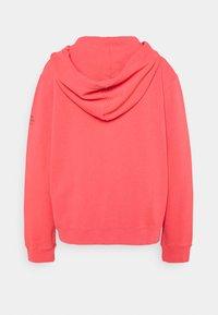 Ecoalf - BASIC HOODIE - veste en sweat zippée - fucsia - 1