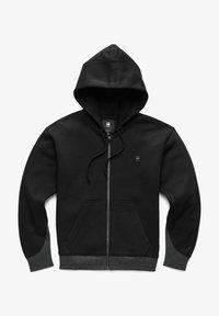 G-Star - PREMIUM CORE - Sweater met rits - black - 4