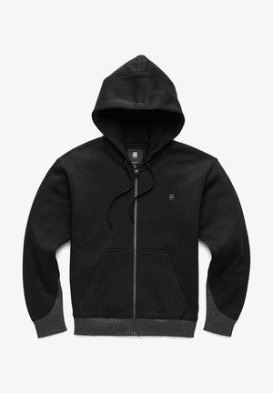 PREMIUM CORE - Sweater met rits - black