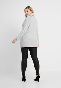 New Look Curves - ROLL NECK JUMPER - Pullover - mid grey - 2