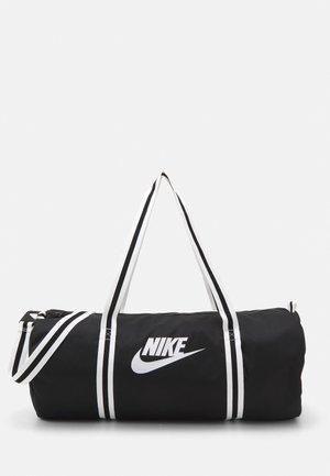 HERITAGE DUFF UNISEX - Sportovní taška - black/black/white
