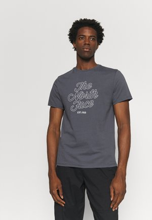 NATURAL WONDERS TEE - Print T-shirt - vanadis grey