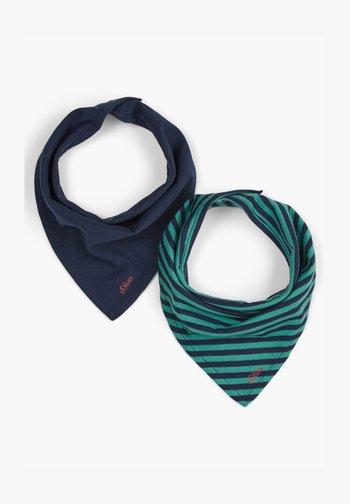 2ER PACK - Bib - blue uni/petrol stripes