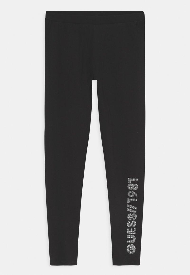 Guess - JUNIOR - Leggings - Trousers - jet black